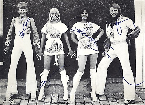 Abba1975signed